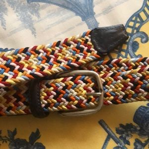 Other - Barney's NY multicolor woven belt